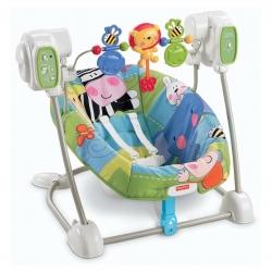 เปลไกวสั่นและโยกสวิงอัตโนมัติ Fisher-Price Space Saver Swing and Seat (Discover 'n Grow)