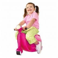 กระเป๋าเดินทางขับขี่ได้สำหรับเด็ก Skoot Children's Ride-On Suitcase (Hot Pink)