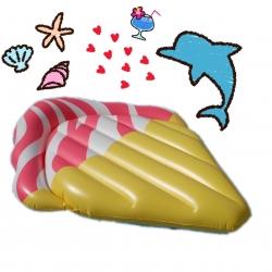 พูลโฟลทแพยางไอศครีม Ice-Cream Raft (Strawberry)