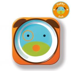 ชามอาหารสำหรับเด็ก Skip Hop รุ่น Zoo Bowls (Dog)