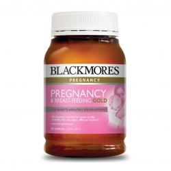 วิตามินสำหรับคุณแม่ตั้งครรภ์และคุณแม่ให้นมบุตร BLACKMORES Pregnancy - Pregnancy & Breast-Feeding GOLD