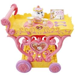 รถเข็นปาร์ตี้น้ำชาเจ้าหญิง Disney Princess Belle Musical Tea Party Cart