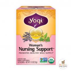 ชาเพิ่มน้ำนมจากสมุนไพรธรรมชาติ Yogi Woman's Nursing Support