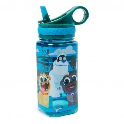 กระติกน้ำแบบหลอดดื่มสำหรับเด็ก Disney Water Bottle with Built-In Straw (Puppy Dog Pals)