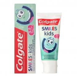ยาสีฟันผสมฟลูออไรด์สำหรับเด็กเล็ก Colgate Smiles Anticavity Toothpaste for Kids - Kids 3-5 Years