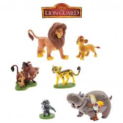 ชุดโมเดลของเล่นสำหรับเด็ก Disney The Lion Guard Figurine Playset