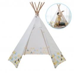 บ้านจำลองทรงเต๊นท์อินเดียนแดงสำหรับเด็ก LOOKA Tent (Little Scandy)
