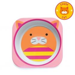 ชามอาหารสำหรับเด็ก Skip Hop รุ่น Zoo Bowls (Cat)