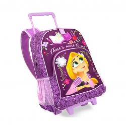 กระเป๋าสะพายพร้อมมือจับและล้อลาก Disney Rolling Backpack (Rapunzel)