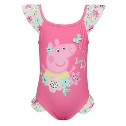 ชุดว่ายน้ำสำหรับเด็ก M&Co Peppa Pig Frill Swimsuit (Lovely Day!)
