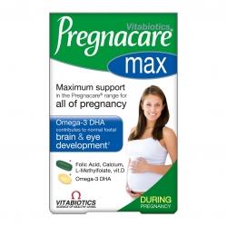วิตามินสำหรับคุณแม่ตั้งครรภ์สูตรเข้มข้น Vitabiotics Pregnacare Max