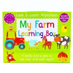 กระเป๋าหนังสือกิจกรรมพร้อมปากกา Look & Learn Wipeclean - My Farm Learning Box