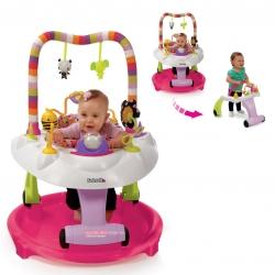 โต๊ะกิจกรรมเสริมพัฒนาการ Kolcraft Baby Sit & Step 2-in-1 Acitivity Center - Bear Hugs (Pink)