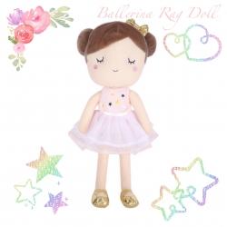 ตุ๊กตานักบัลเล่ต์น้อยกอดนุ่ม Ballerina Rag Doll