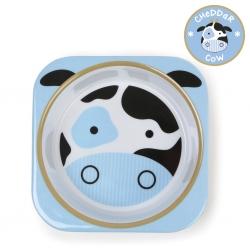 ชามอาหารสำหรับเด็ก Skip Hop รุ่น Zoo Bowls (Cow)
