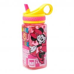 กระติกน้ำแบบหลอดดื่มสำหรับเด็ก Disney Water Bottle with Built-In Straw (Minnie Mouse)