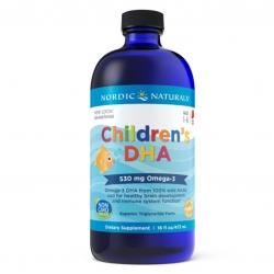 น้ำมันปลาบริสุทธิ์สำหรับเด็ก Nordic Naturals Children's DHA 530mg Omega 3 (16 Fl. Oz.)