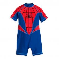 ชุดว่ายน้ำสำหรับเด็ก Disney One-Piece Rash Guard for Boys (Spider-Man)
