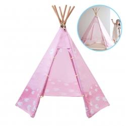 บ้านจำลองทรงเต๊นท์อินเดียนแดงสำหรับเด็ก LOOKA Tent (Pink Dream)