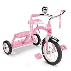 จักรยานสามล้อถีบสุดคลาสสิค Radio Flyer Classic Dual-Deck Tricycle (Pink)