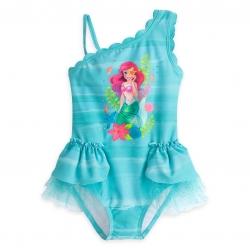 ชุดว่ายน้ำสำหรับเด็ก Disney Deluxe Swimsuit for Girls (Ariel)