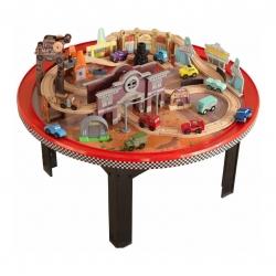 โต๊ะกิจกรรมพร้อมเมืองจำลอง KidKraft Disney Cars Cadillac Range Racetrack & Table