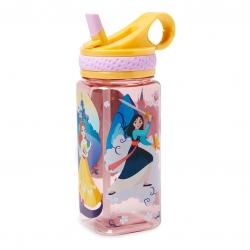 กระติกน้ำแบบหลอดดื่มสำหรับเด็ก Disney Water Bottle with Built-In Straw (Disney Princess)