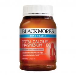 วิตามินเสริมแคลเซียมสำหรับผู้ใหญ่ BLACKMORES Bone Health - Total Calcium, Magnesium + D3