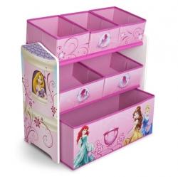 ชั้นเก็บของเล่นสำหรับลูกน้อย Delta Children Multi-Bin Toy Organizer (Disney Princess)