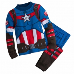 ชุดนอนสุดเท่ห์สำหรับลูกชาย Disney Pyjamas For Kids (Captain America)