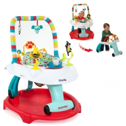 โต๊ะกิจกรรมเสริมพัฒนาการ Kolcraft Baby Sit & Step 2-in-1 Acitivity Center - Bear Hugs (Blue)