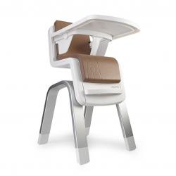 เก้าอี้รับประทานอาหารทรงสูงสุดหรู Nuna ZAAZ High Chair (Almond)