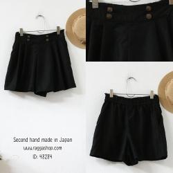 48284 กางเกงขาสั้น เอว30(id 7525 จองคะ)