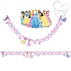 ป้ายแบนเนอร์วันเกิด Disney Princess Happy Birthday Banner