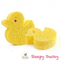 ฟองน้ำนุ่มละมุนจากเยื่อพืชธรรมชาติ Baby's Deluxe Bath Sponge (Duck)