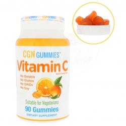 วิตามิน C ชนิดกัมมี่สำหรับเด็กและผู้ใหญ่ California GOLD Nutrition Vitamin C Gummies