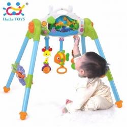 ชุดโมบายกิจกรรมเสริมพัฒนาการ Huile Toys 3-in-1 Smart Soothing Activity Gym