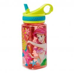 กระติกน้ำแบบหลอดดื่มสำหรับเด็ก Disney Water Bottle with Built-In Straw (Ariel)