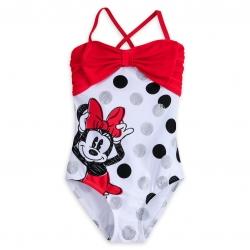 ชุดว่ายน้ำสำหรับเด็ก Disney Swimsuit for Girls (Minnie Mouse)