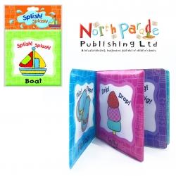 หนังสือนุ่มนิ่มสำหรับเวลาอาบน้ำแสนน่ารัก Splish! Splash! Book