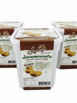 น้ำตาลดอกมะพร้าวชนิดก้อน ขนาด 500 กรัม