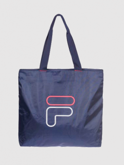 กระเป๋าสะพายข้าง fila w square - navy blue