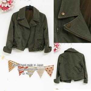 46522 อก36 เสื้อแจ็คเก็ต(ID 6316 จองคะ)