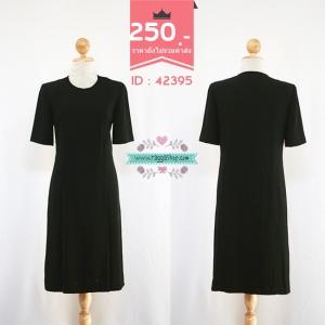 42395 size36-34-40 เดรสสีดำ