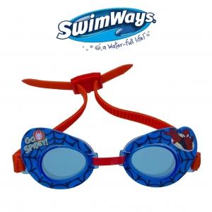 แว่นตาว่ายน้ำสำหรับเด็ก SwimWays Swim Goggles (Marvel Ultimate Spider-Man)