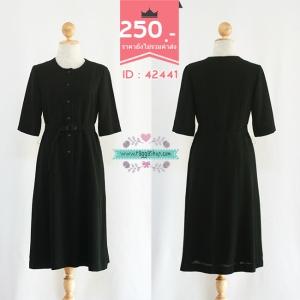 42441 size36-34-38 เดรสสีดำ