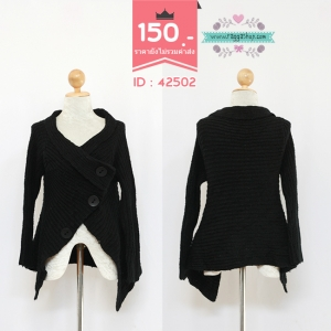 42502 size38 เสื้อไหมพรม