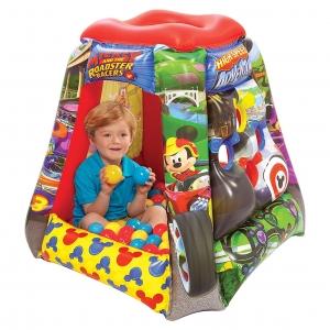 เต็นท์เป่าลมพร้อมลูกบอลสำหรับเด็ก Jakks Pacific Playland with 20 Soft Flex Balls (Disney Junior Mickey and the Roadster Racers)