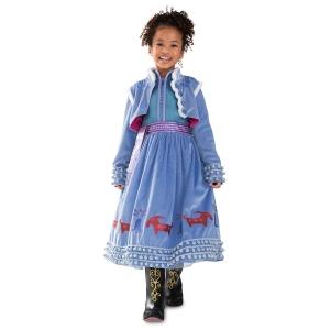 ชุดคอสตูมรุ่นดีลักซ์สำหรับเด็ก Disney Deluxe Costume for Kids (Olaf's Adventure Frozen Anna)