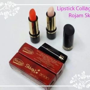 ลิปสติกคอลลาเจน Lipstick Collagen Rojam Skiva